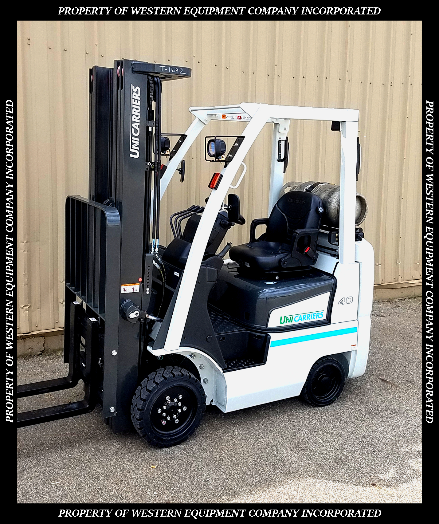 New UniCarriers Forklift